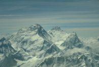 Everest Lhotse and Nuptse from Cho Oyu (Craig John)