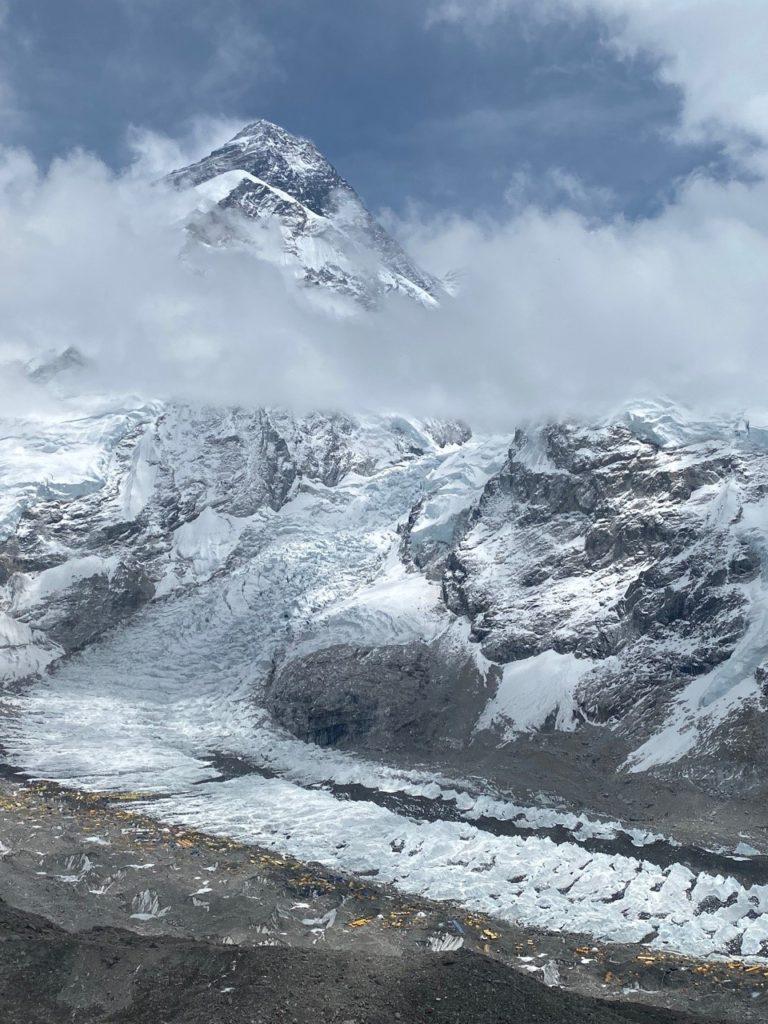 Everest from Pumori Camp 1 (Ang Jangbu Sherpa)
