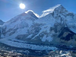 Everest with a Lenticular (Ang Jangbu Sherpa)