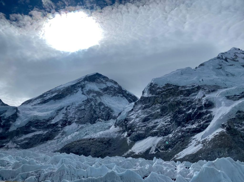 High Clouds over Mount Everest (Ang Jangbu Sherpa)