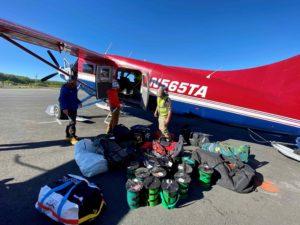 IMGD Team 4 loading up in Talkeetna (Nickel Wood)