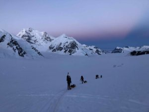 Mt Hunter from near Camp 1 (Eric Simonson)