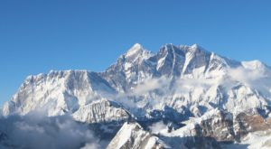 Nuptse, Everest and Lhotse from summit of Mera Peak (Dan Zokaitas)