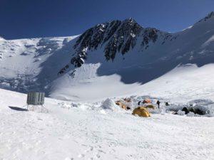 17 Camp with Denali Pass behind (Eric Simonson)