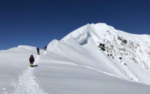 The last steps to the summit of Denali (Eric Simonson)