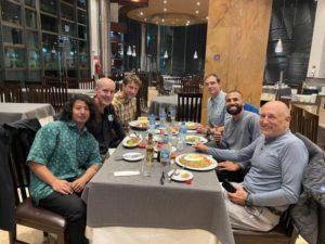 2021 Bolivia Team Welcome Dinner (Adam Clark)