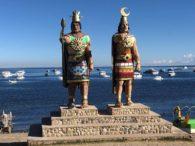 Aymara King and Queen Welcoming to Lake Titicaca (Adam Clark)