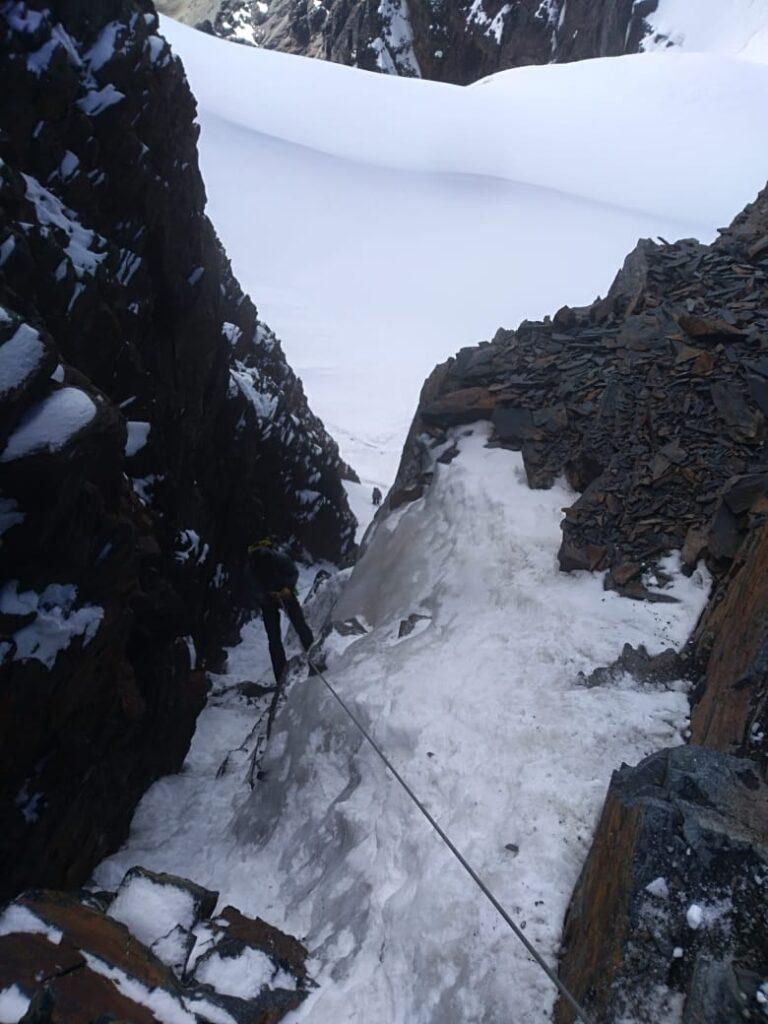 Condoriri Climbing (Adam Clark)