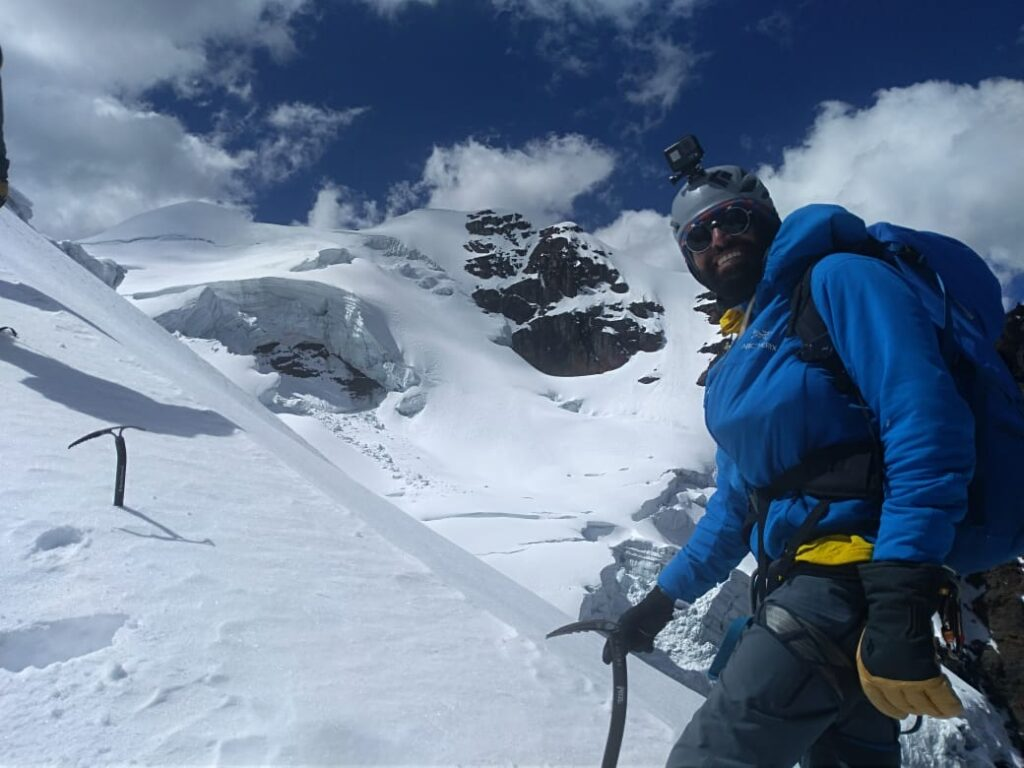 Happy climbing in Bolivia (Adam Clark)