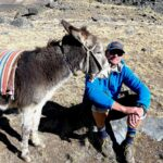 IMG Senior Guide Adam Clark making friends (Wes Reeder)
