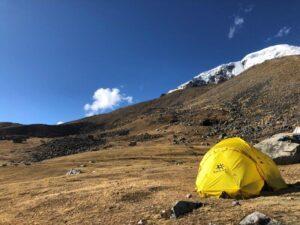 Base Camp on Illimani (Adam Clark)