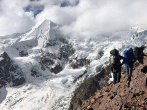 Climbing to HC on Illimani (Adam Clark)