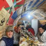 Dinner at the Hut on Elbrus (Sasha Sak)