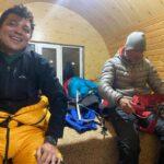 Getting ready to go to the summit (Sasha Sak)