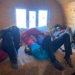 Hanging at the hut on Elbrus (Sasha Sak)