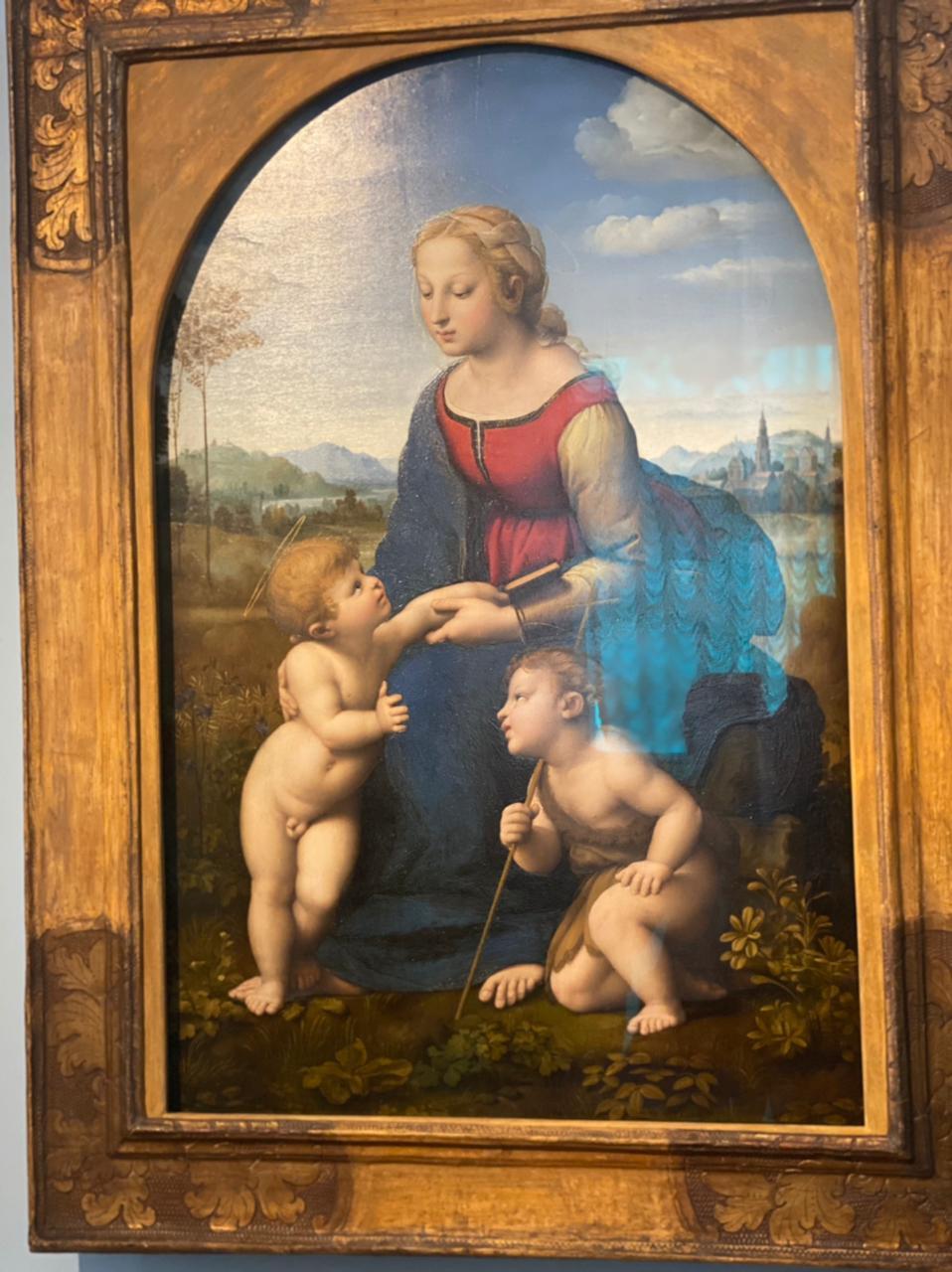 Rafael's Madonna (Sasha Sak)
