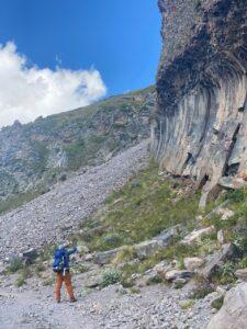 Taking in the geology (Sasha Sak)