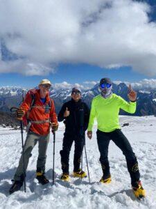 Training day on Elbrus (Sasha Sak)